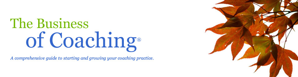 The Business of Coaching.